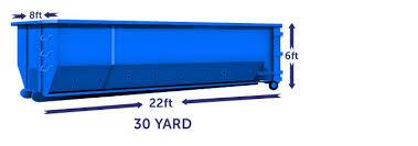 30 yard dumpster