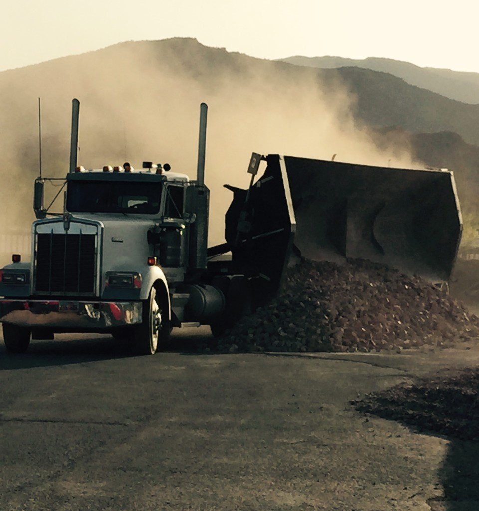 Side Dump, Haul Gravel