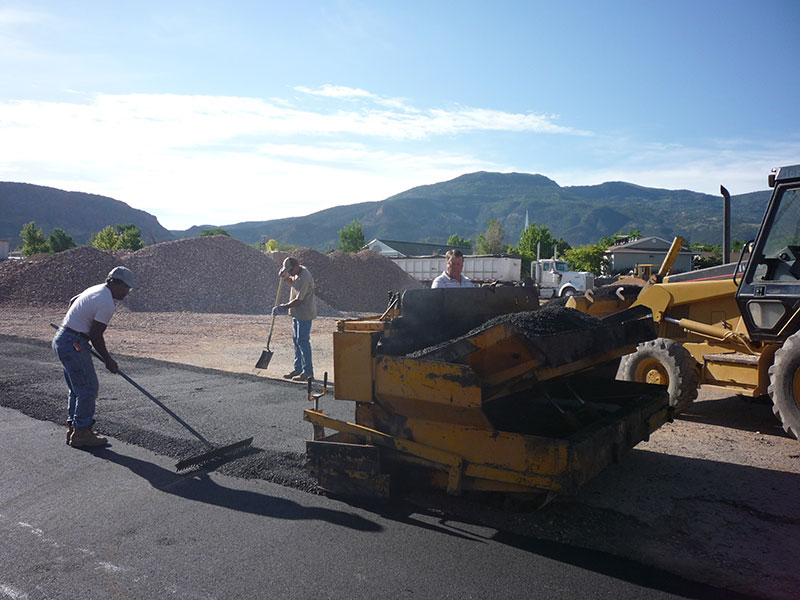 Paving, Asphalt, Paver, Cedar City