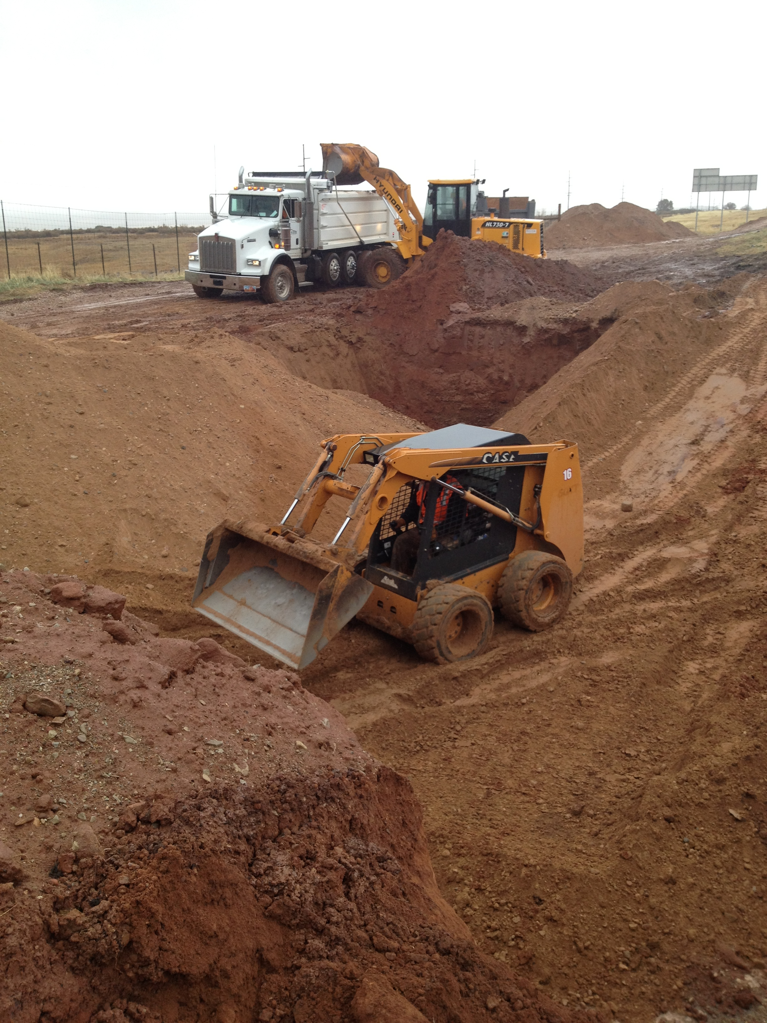 Skid Steer, Dump Truck, Excavation