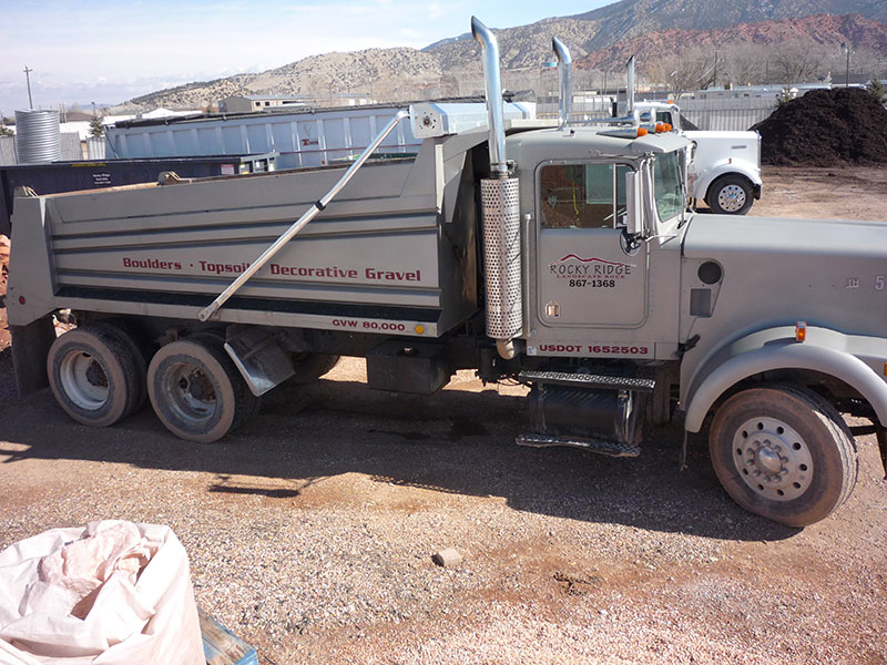Ken Worth Dump Truck