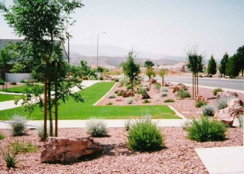 Grass, Decorative Gravel, Cedar City