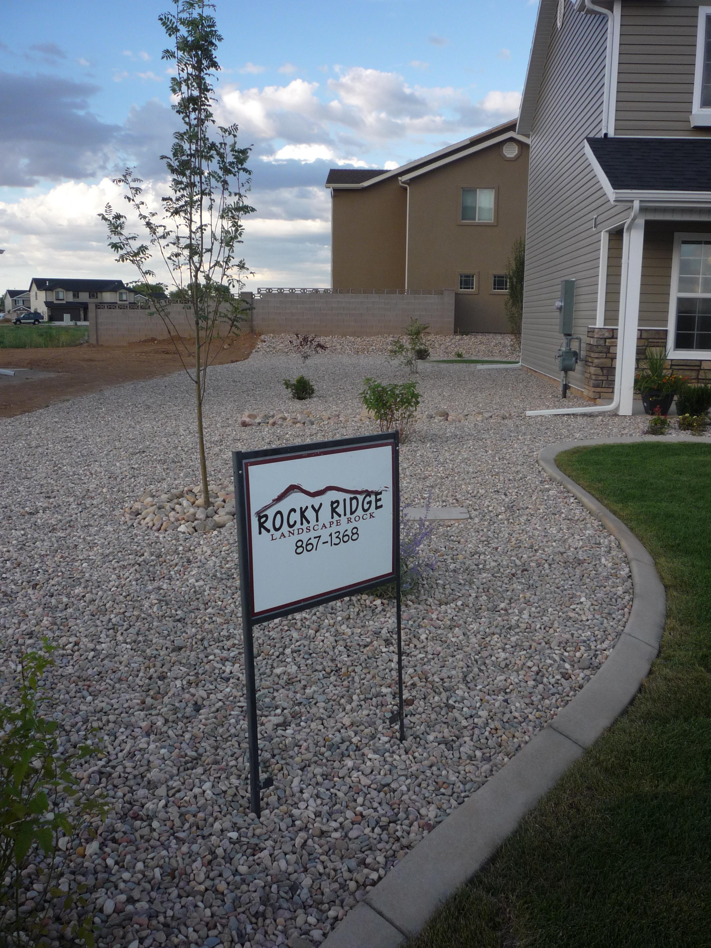 Rocky Ridge Sign in Cedar City