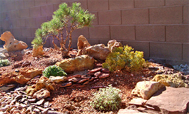 landscape rock in cedar city
