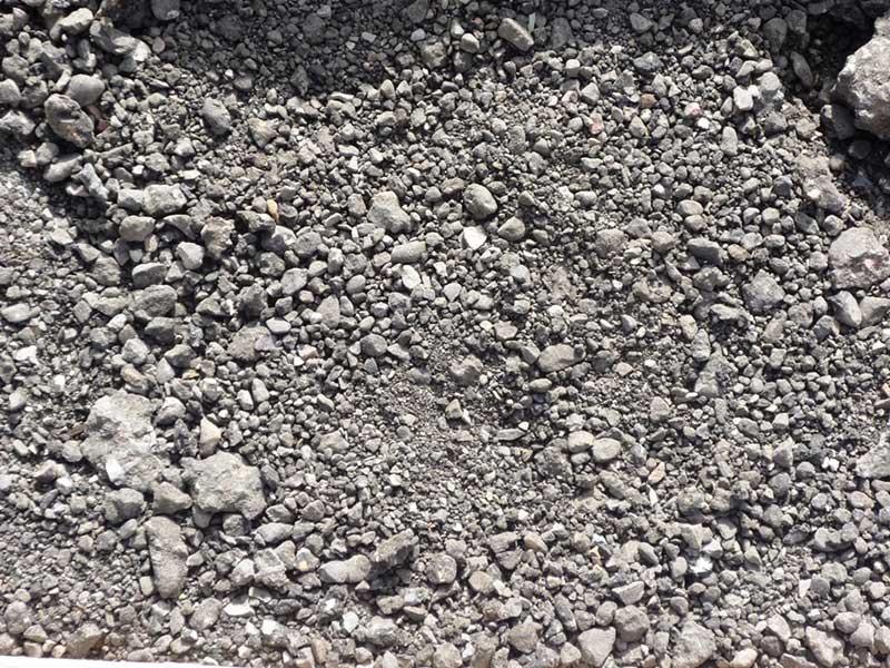 crushed asphalt driveway rock