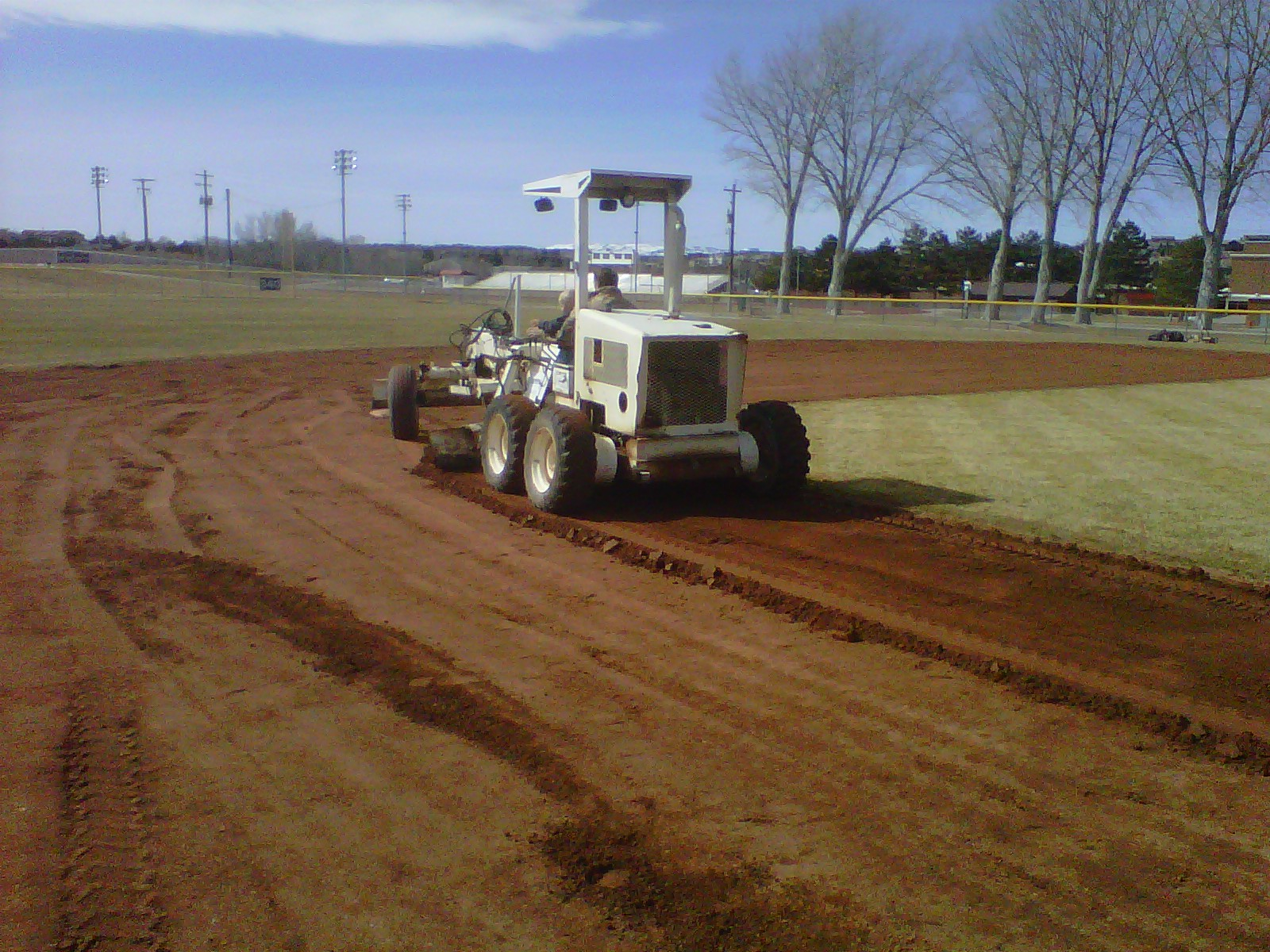 Grading, Baseball field, Cedar City