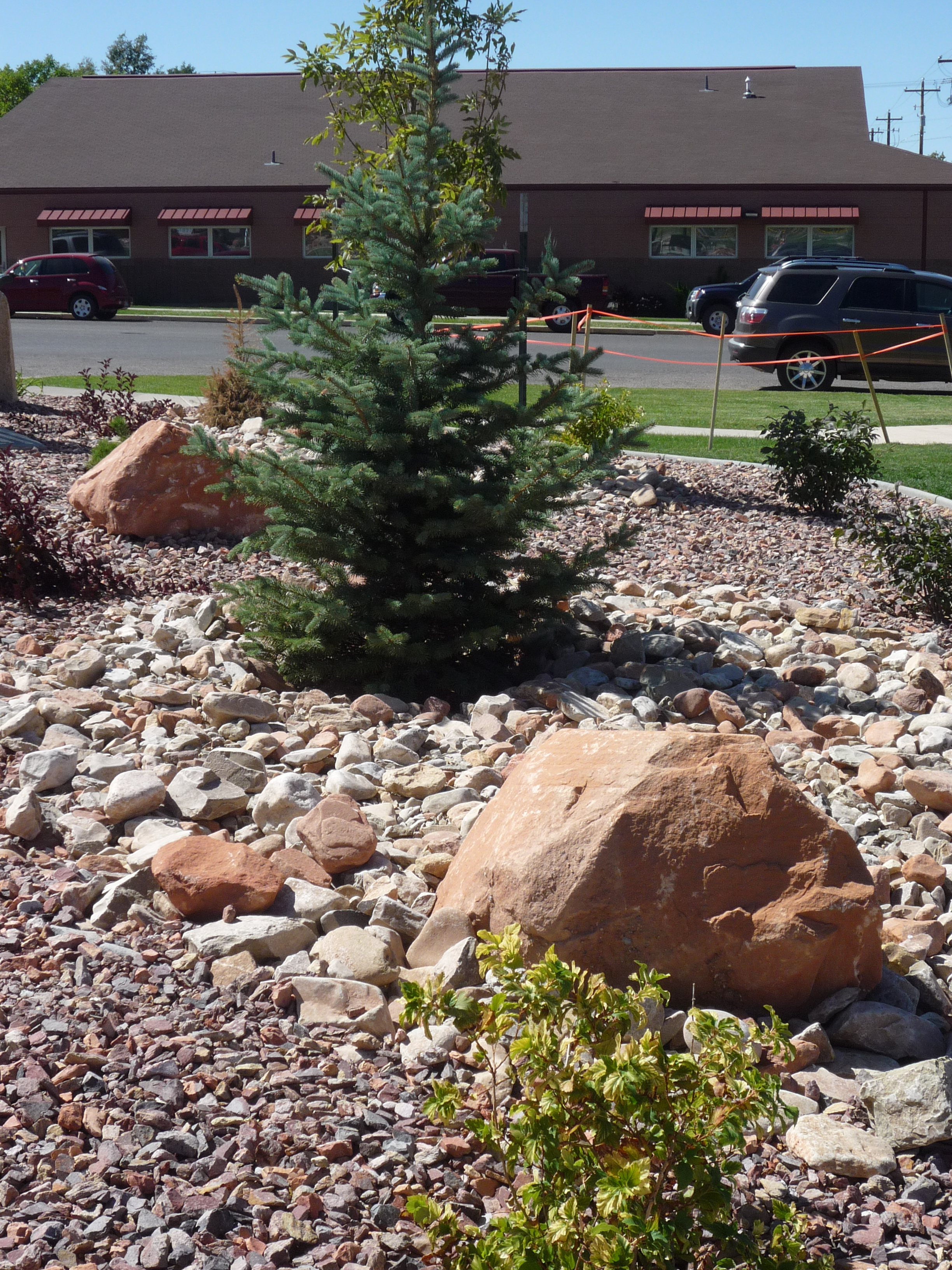 Decorative Boulder Landscape