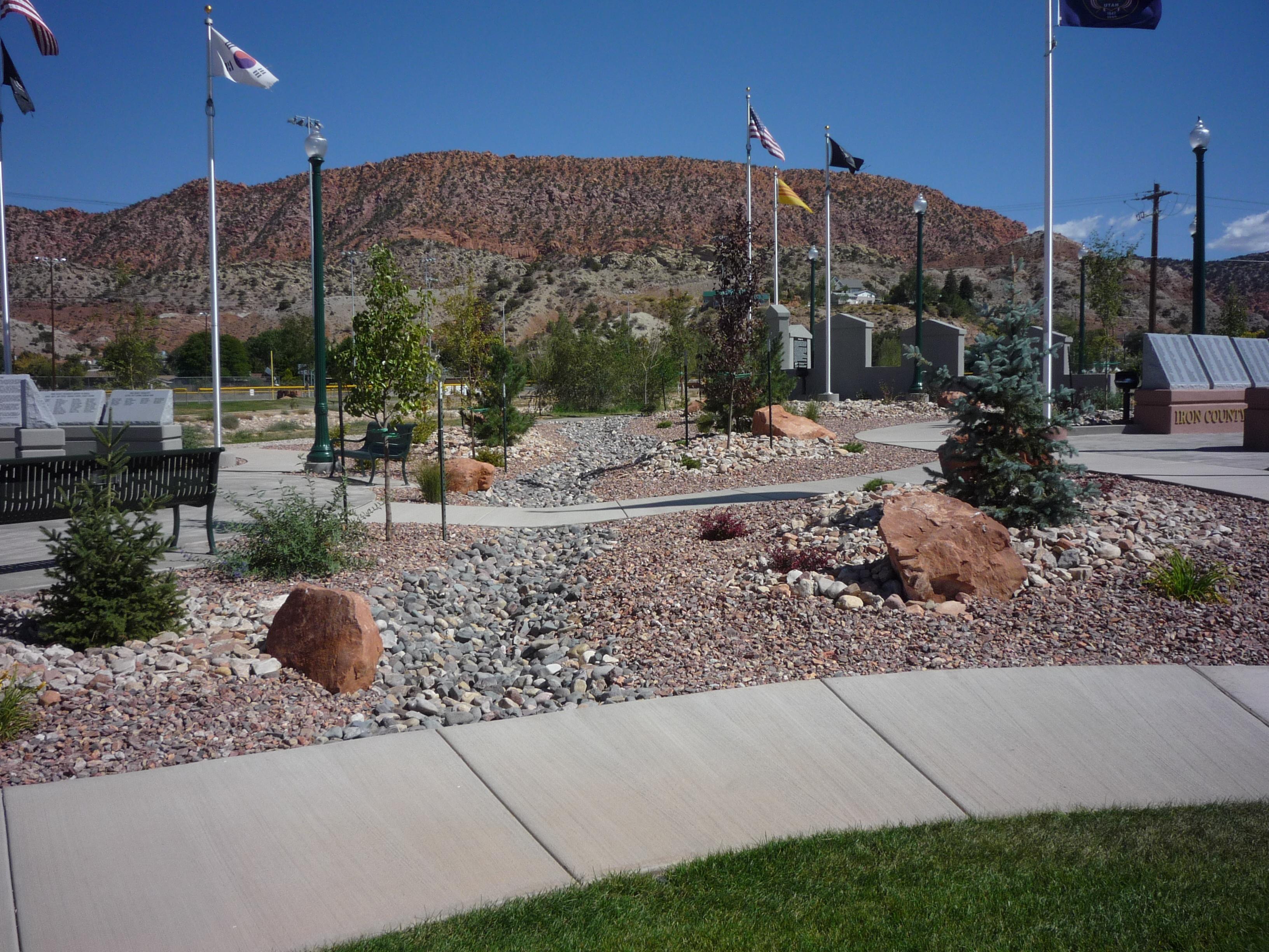 Veteran Memorial Decorative Gravel