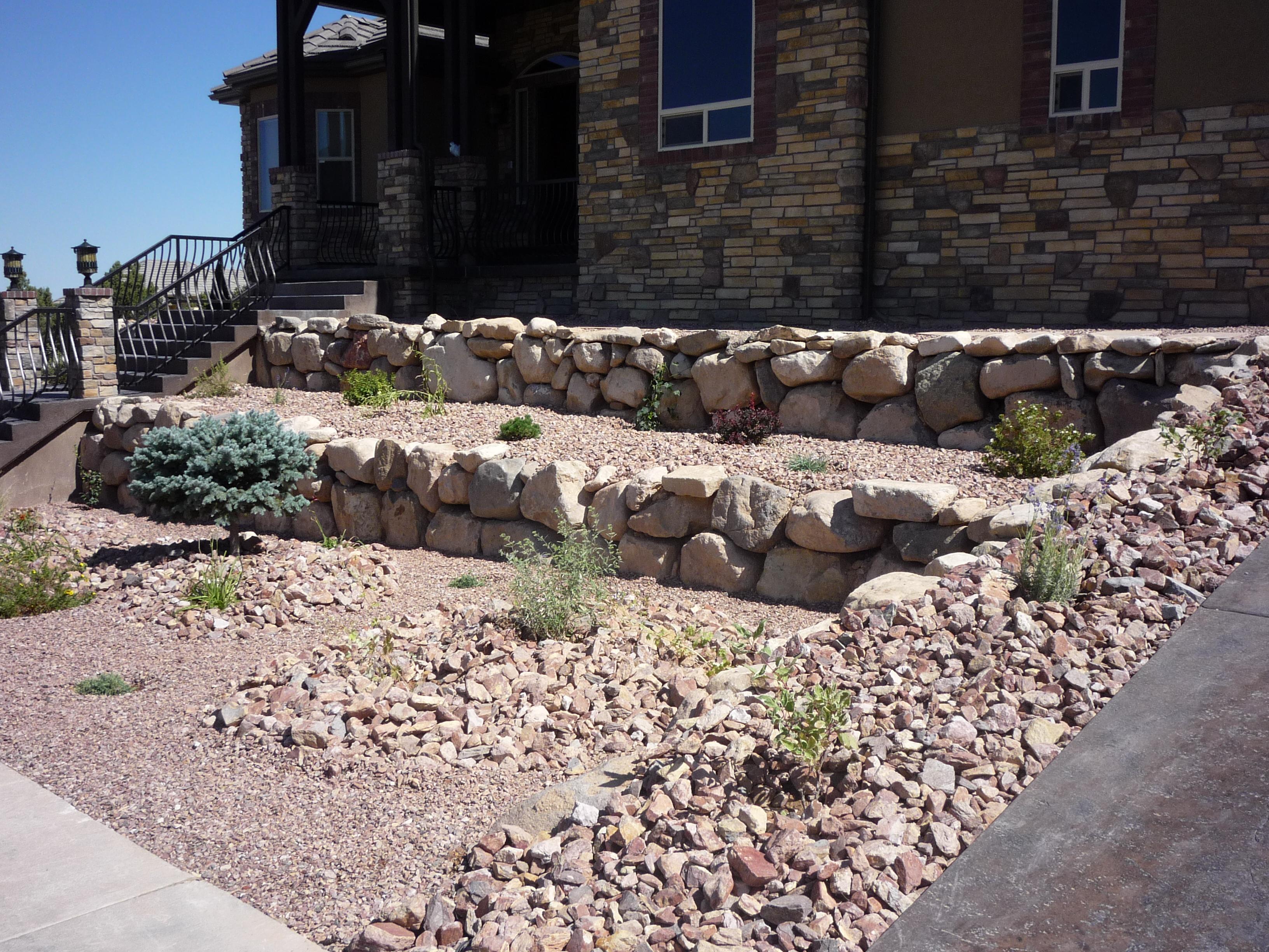 Rock Wall Landscape